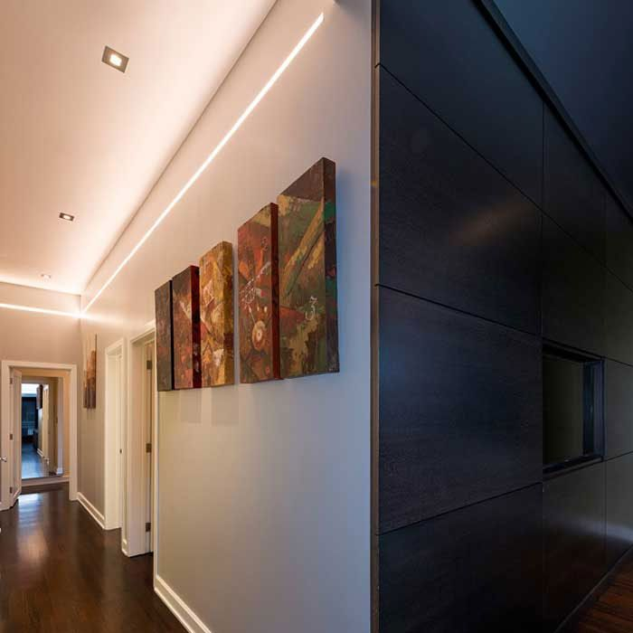 Reveal Plaster-In LED System 5W Tunable White 24VDC | Pure Lighting at Lightology