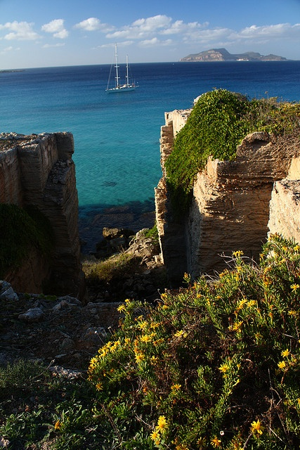 Cala Rossa, Sicily, Italy #palermo