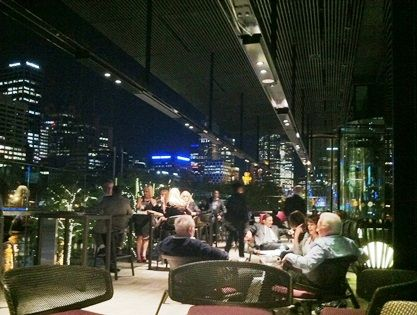 HEATSTRIP Club 23 terrace -Crown Casino, Melbourne