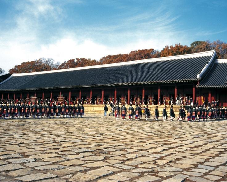 Jongmyo Shrines ~ Unesco World Heritage