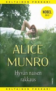 http://www.adlibris.com/fi/product.aspx?isbn=9513175855   Nimeke: Hyvän naisen rakkaus - Tekijä: Alice Munro - ISBN: 9513175855 - Hinta: 6,80 €
