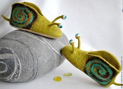 Обувь ручной работы. Ярмарка Мастеров - ручная работа Тапко-улитки.. Handmade.