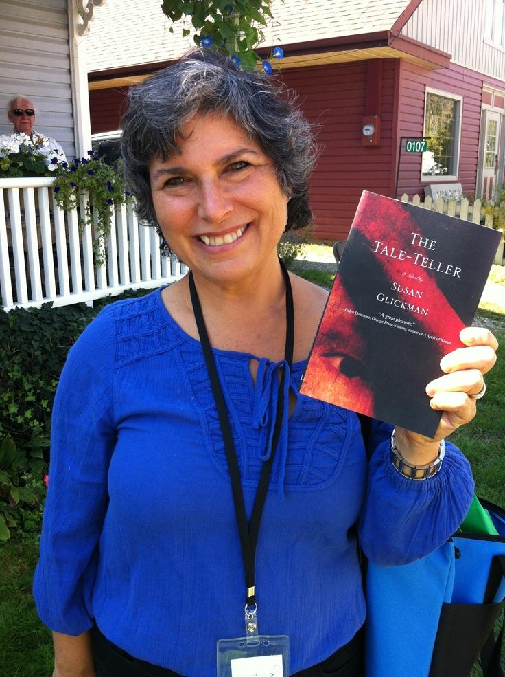 Susan Glickman at Eden Mills Writer's Festival. #emwf