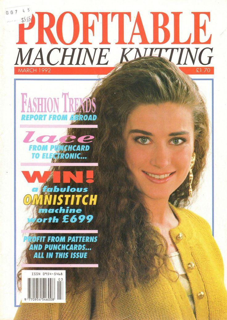 The 13 best Profitable Machine Knitting Magazine images on Pinterest ...