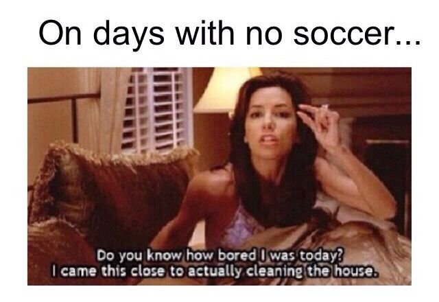 ⚽️Soccer :) except i don't clean lol
