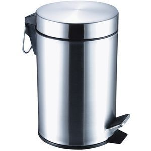 Stainless Steel Step Bin 12 Litre