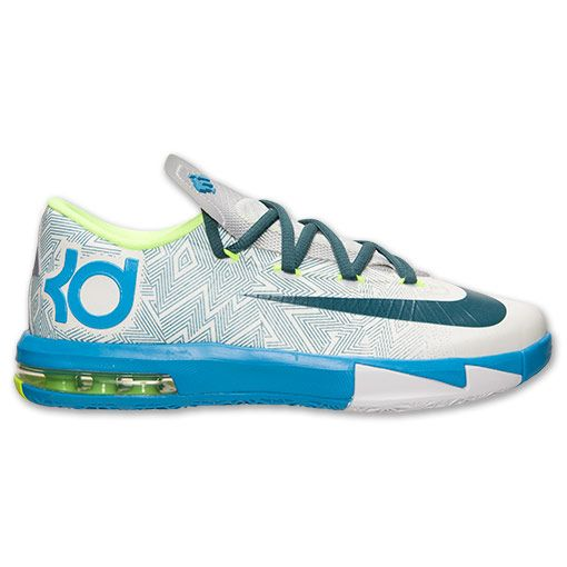 Boys' Grade School Nike KD 6 Basketball Shoes - 599477 005 | Finish Line