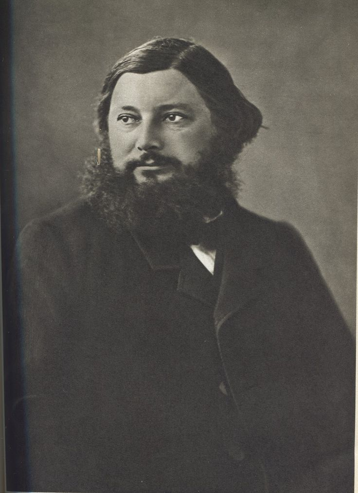 """Gustave COURBET (10 June 1819 – 31 December 1877) was a French painter who led the Realist movement in 19th-century French painting. He occupies an important place in 19th century French painting as an innovator and as an artist willing to make bold social commentary in his work. One of his famous & scandalous masterpeace is """"The origin of the world"""" (1866) exposed at the ORSAY museum : http://obviousmag.org/en/archives/2008/01/the_origin_of_the_world_-_gustave_courbet.html"""