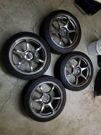 MINT ADVAN RACING RG2 SBC FINISH 18×8 5×120 BMW/ MINI COOPER FITMENT