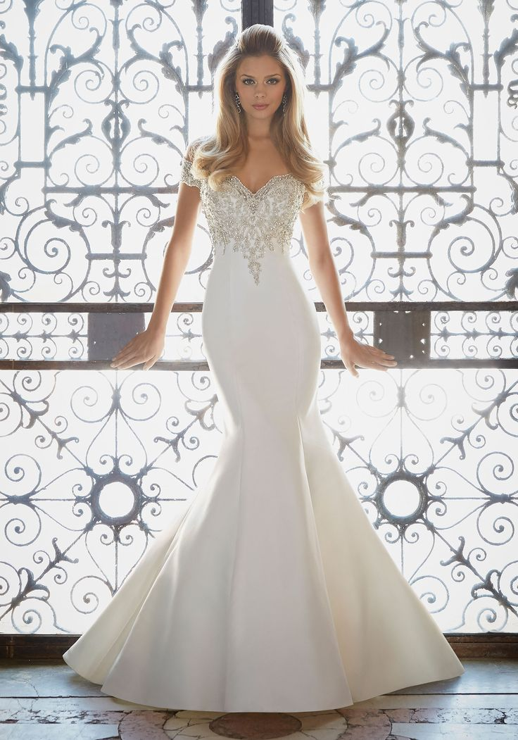Attractive Mermaid Cut Wedding Gown Ensign - Best Evening Gown ...