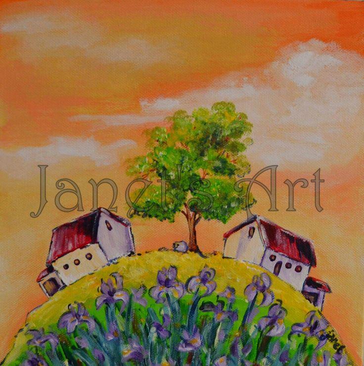 Irisses - Janet's  Art   janet1bester@gmail.com