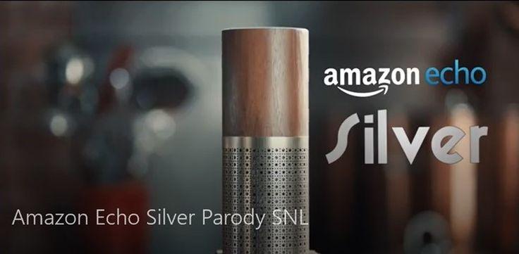 Gotta have the Amazon Echo Silver! | SNL Parody
