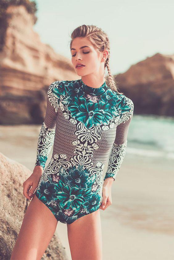 40fffe6d683d5 50 One-Piece Modest Swimsuit Ideas to Wear This Summer - Femalikes