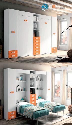 Wall Beds Ecuador: Ideas de decoración para dormitorios pequeños