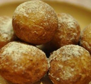 Абрикосовые пончики