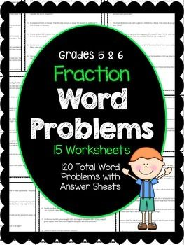 120 Fraction Word Problems