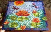 mesa en mosaico lotos