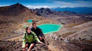 Crater lakes, Tongariro Alpine Crossing