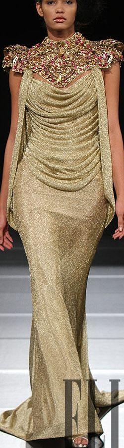 Amal Sarieddine............http://www.pinterest.com/rglumac/gold/