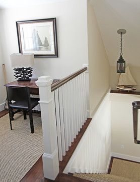 beautifully crafted classic bannister: Custom In Law Apartment