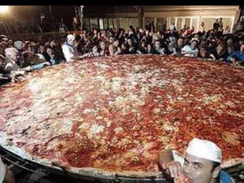 **NEW** Worlds Largest Pizza/San Antonio