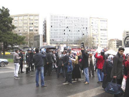 Kas hastaları için Başkentte eylem yapıldı