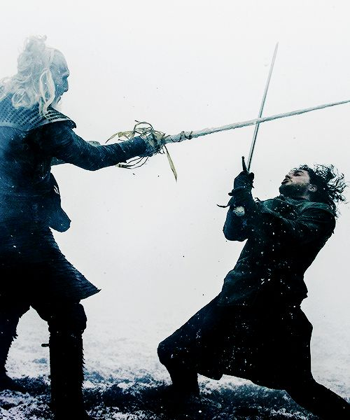 "White Walker vs Jon Snow | Game of Thrones, 5x08, ""Hardhome"""
