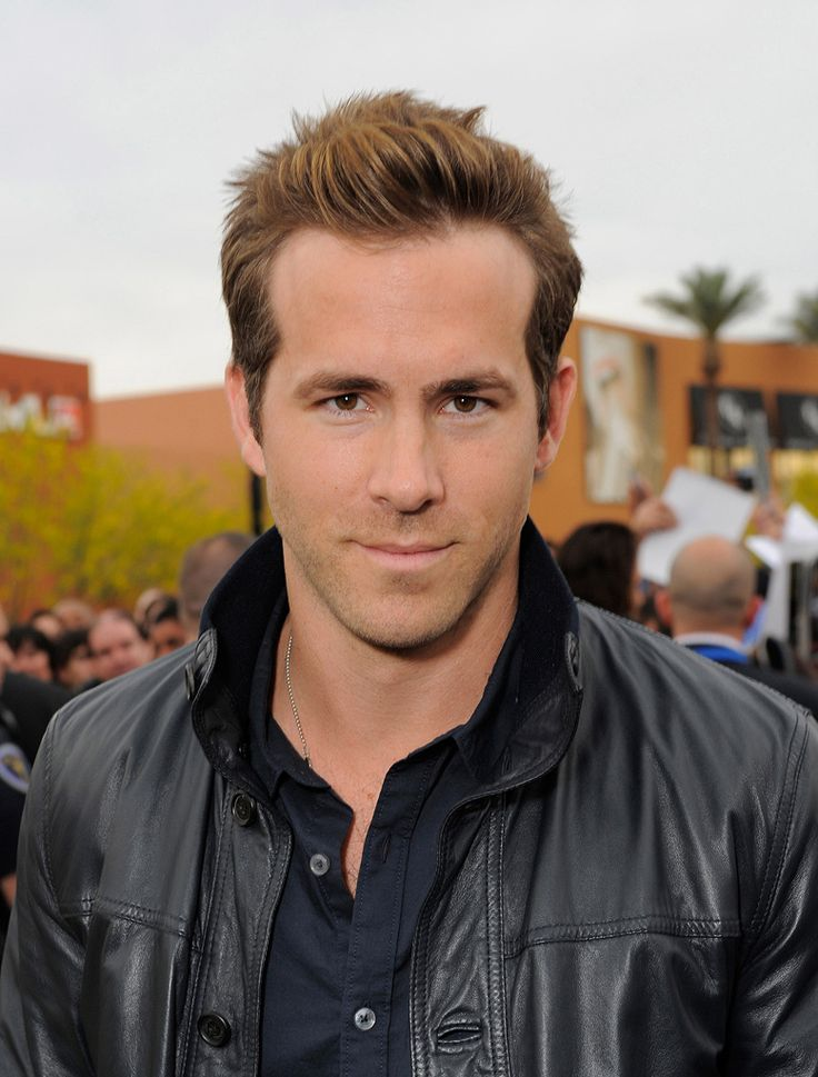 Ryan Reynolds-- Great guy, great actor, and soooo yummy :)
