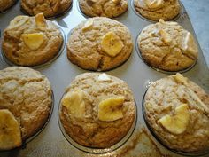 Vegans Eat Yummy Food Too!!!: Banana Okara Muffins