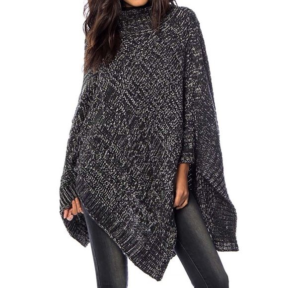 Southern Girl Fashion Accessories - SWEATER CAPE Oversized Slouchy Pullover Layering