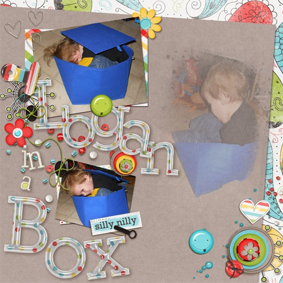 Logan in a box ~ by me{Lola} follow pic link to see full scrap kit credits