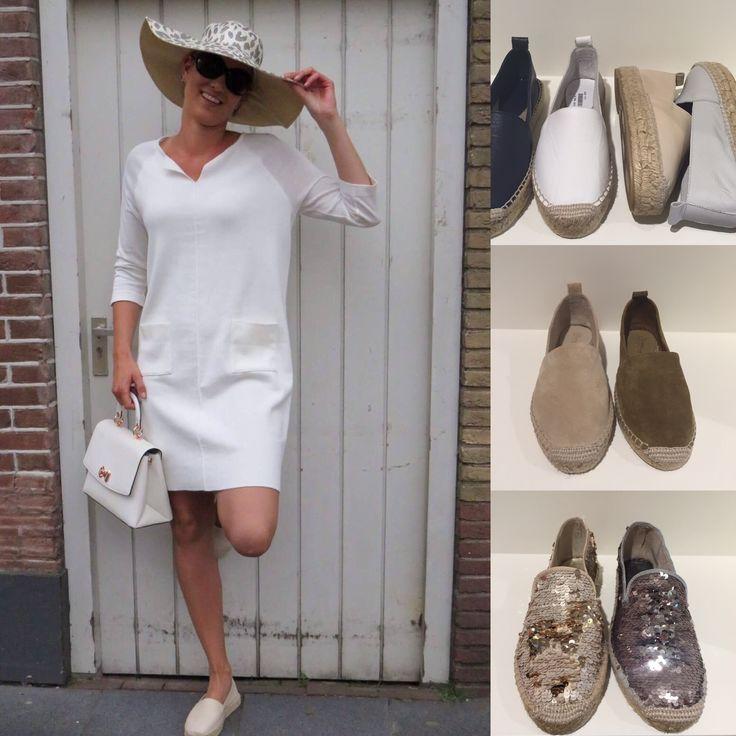 Hallo allemaal,  Dit is Mirjam. Zij gaat aankomende week iedere dag een paar schoenen en accessoires voor u showen. De kleding is van Anna's  Espadrilles  JR 99,95 / zomers/ trend/ comfortabel/ kleur ; goud , zilver, wit , zwart , blauw , jeans ,groen , taupe en cappuccino . Tas/ Ted / crème , zwart. / 255.00.  Morgen / nieuw set / benieuwd? / ik ook/ Tot morgen ..... #Genemuiden.  www.jrschoenmode.nl   #urk #Barneveld #opheusden #URKERLAND. #Zwolle #Stadhagen #HCZwolle #shoppeninzwolle