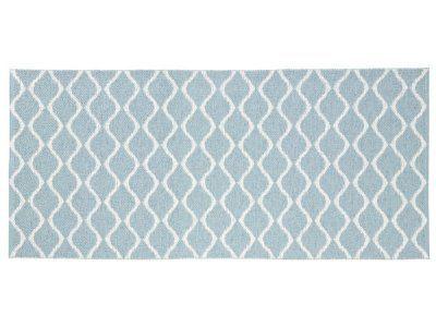 Tapis en plastique - Le tapis de Horred Wave (bleu)