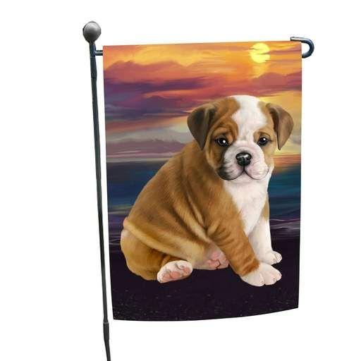 Bulldog Dog Garden Flag Corgi Pembroke Welsh Corgi Cute Corgi