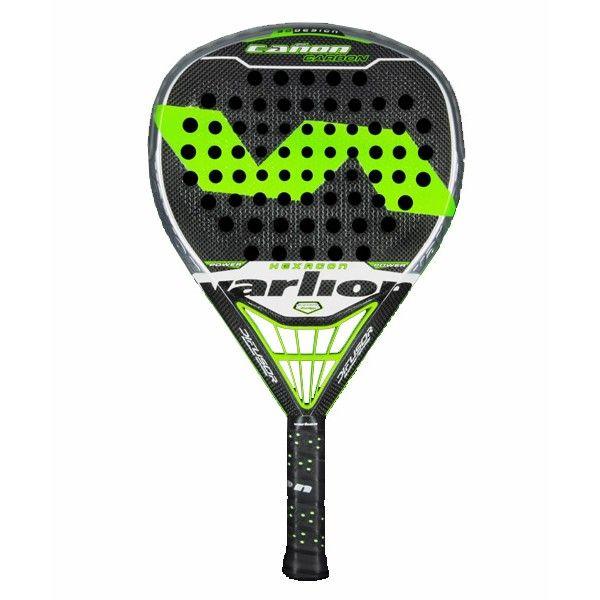 La nueva Varlion Cañon Carbon Difusor Hexagon Es una pala con el balance a la cabeza, lo cual es una raqueta de padel con gran potencia. Aparte es una pala que tambien tiene control. http://www.newpadel.es/varlion/1064-varlion-canon-carbon-difusor-hexagon.html