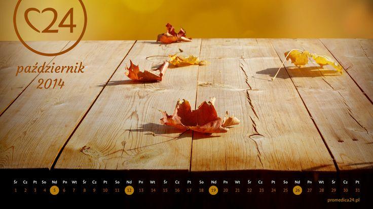 Promedica24 - e-kalendarz - Październik 2014 - 1366x768