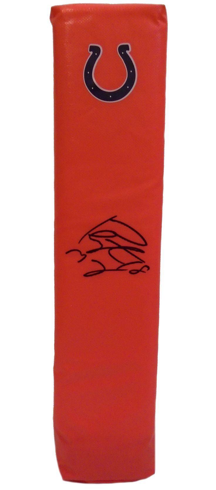 Peyton Manning signed Indianapolis Colts full size football touchdown end zone pylon w/ PSA/DNA authentication. Free USPS shipping. www.AutographedwithProof.com is your one stop for autographed collectibles from Indiana sports teams. Check back with us often, as we are always obtaining new items.