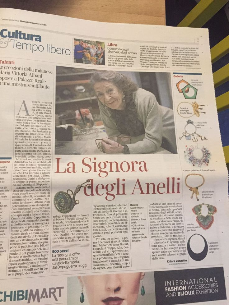 Corriere della sera - novembre 2016
