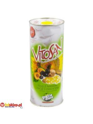Olej z Nasion Zbóż i Owoców  • delikatny smak • do smażenia i przyprawiania • olej ze zbóż i owoców • bogaty w witaminę E