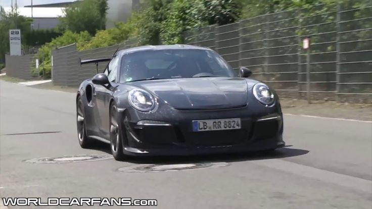 2015 Porsche 911 GT3 RS spied
