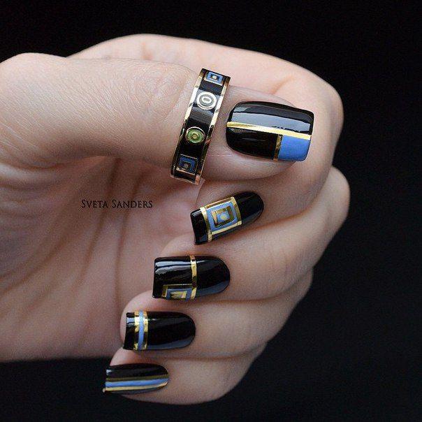 света сандерс дизайн ногтей фото простой способ