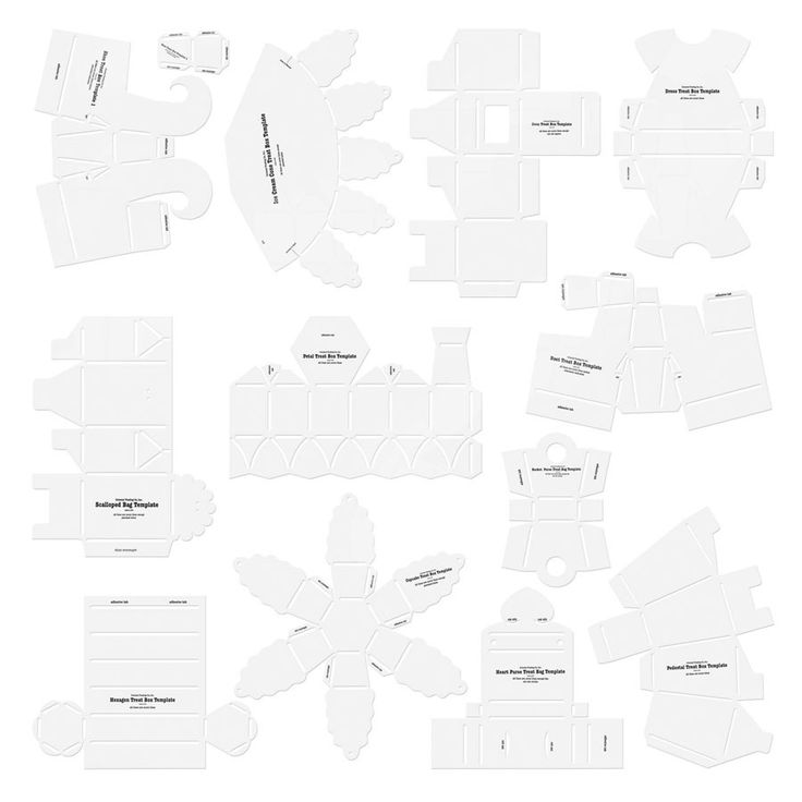 Tons of free templates for everything: boxes, cards, envelopes, cupcake liners etc