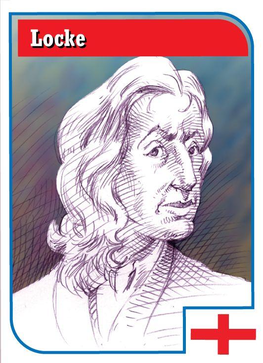 John Locke (read all about him)!