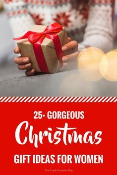 25 Gorgeous Christmas Gift Ideas for Women. Not sure what to buy for the special women in your life? Check out this Christmas gift guide for ideas and inspiration!