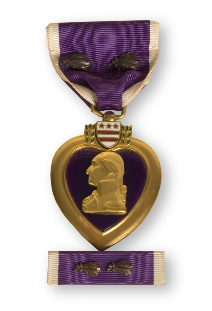 images of purple things   George Robb received this Purple Heart medal for being wounded during ...