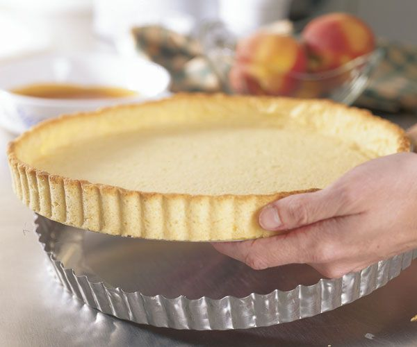 No-Fail Butter Tart Crust Recipe This cookie-like crust is perfect for custard or fresh fruit fillings that don't need further cooking