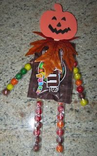Halloween treats. So cute and simple!!: Ideas, Halloween Parties, Candies Man, Halloween Candies, Halloween Pumpkins, Halloween Fal, Kids, Halloween Treats, Crafts