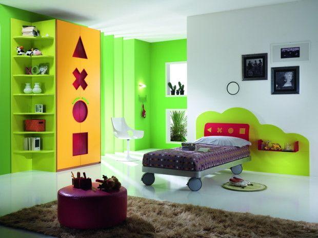 A super cool kid's room! :)