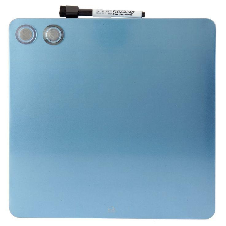 Quartet Cubes Magnetic Blue Board 290x290mm   Officeworks