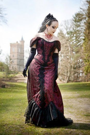 15 best plus size goth wedding dresses images on Pinterest